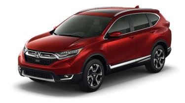 New Honda CR-V - front three quarter