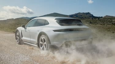 Porsche Taycan Cross Turismo - rear off road