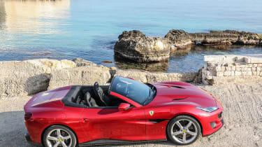 Ferrari Portofino - side static