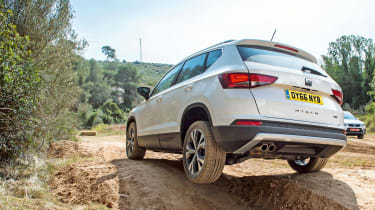 Why the SEAT Ateca is our Crossover of the Year - sponsored rear