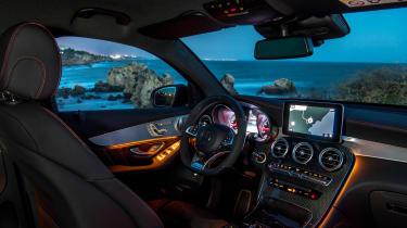 Mercedes-AMG GLC 43 Coupe interior lights