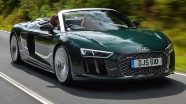 Audi R8 Spyder V10 plus - front