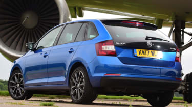 Skoda Rapid Spaceback - static rear
