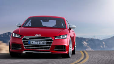Audi TTS 2014 nose