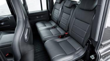 Land Rover Defender Works V8 - rear seats