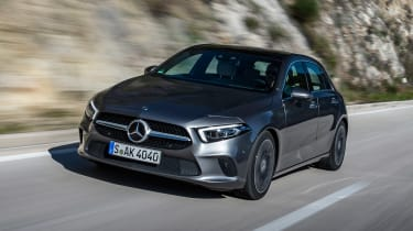 Mercedes A-Class - front tracking