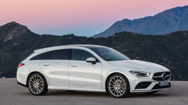 Mercedes CLA Shooting Brake - front static