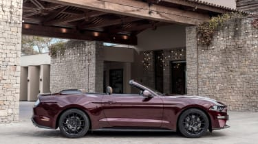 Ford Mustang EcoBoost Convertible - side static