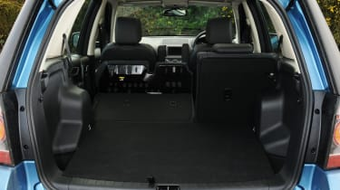The boot is big with the seats up, and massive with them down.