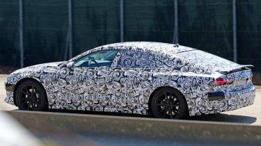 New Audi A7 spyshot - side/rear 2