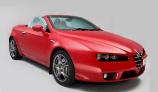 Alfa Romeo Spider front static