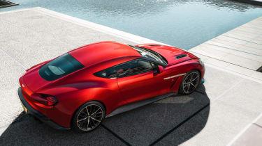 Aston Martin Vanquish Zagato - overhead