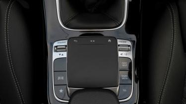 Mercedes A 180 SE - trackpad