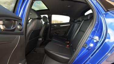 Honda Civic diesel - back seats