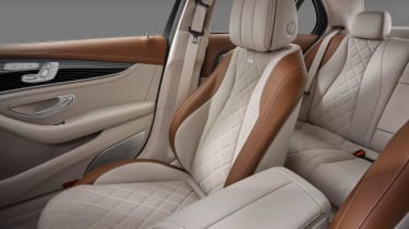 Mercedes E-Class - front seats