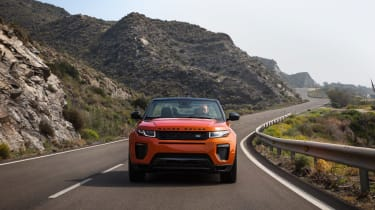 Range Rover Evoque Convertible nose