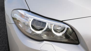 BMW 520d front light