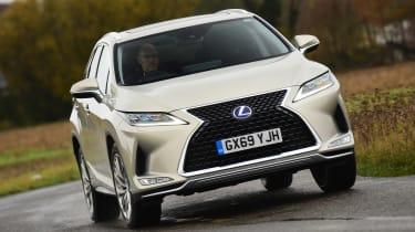 Lexus RX - front action