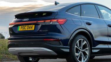Audi Q4 e-tron Sportback - rear