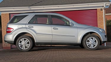 Used Mercedes M-Class - side