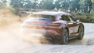 Porsche Taycan Cross Turismo - rear off-road