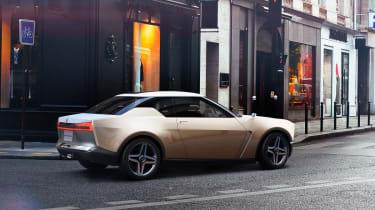 Nissan IDx concept - rear