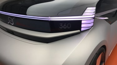 Volvo 360c concept - headlight