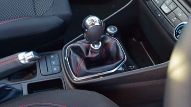 Ford Fiesta Sport Van gearbox
