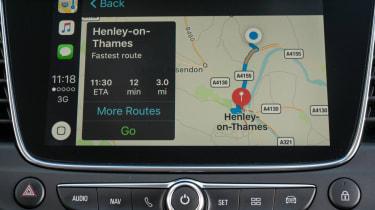 Vauxhall Grandland X map
