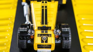 LEGO Caterham 620R - overhead