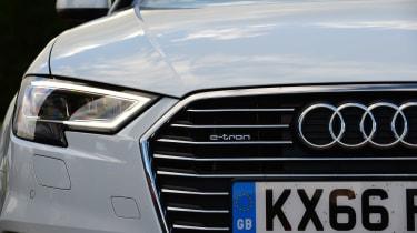 Audi A3 e-tron - front detail
