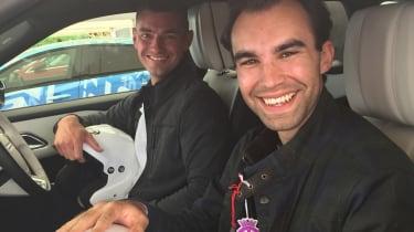 Range Rover Velar ride Goodwood batch