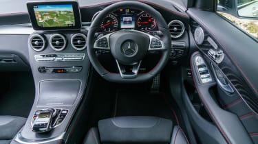 Mercedes-AMG GLC 43 4MATIC - dash