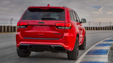 Jeep Grand Cherokee Trackhawk - rear action