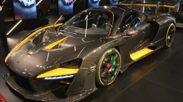 2018 McLaren Senna Carbon Theme front