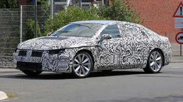 VW Passat CC spies aside front 3/4