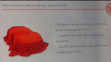 Ferrari 488 'GTO' presentation