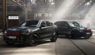 BMW X5 and X6 Black Vermillion Editions
