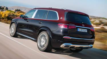 Mercedes-Maybach GLS - rear tracking