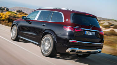 Mercedes-Maybach GLS - rear tracking