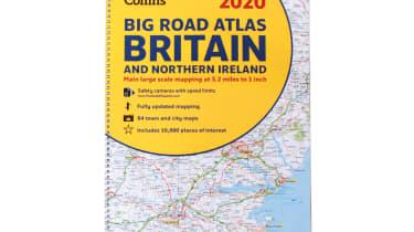 Collins Big Road Atlas Britain and N. Ireland 2020