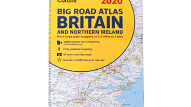 Collins Big Road Atlas Britain and N. Ireland 2020