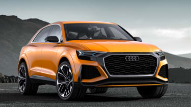Audi Q8 Sport Concept -  front quarter