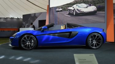 The 570S Spider is the fourth car in McLaren's Sports Series range, joining the 540C, 570S coupe and 570GT.