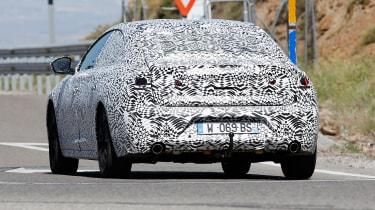 Peugeot 508 spy shot rear
