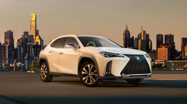 Lexus UX official front side