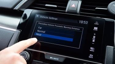 Honda Civic - screen