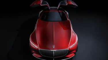 Mercedes-Maybach 6 concept coupe - above