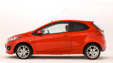 Used Mazda 2 - side