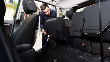 Honda Jazz long-term first report - rear seats